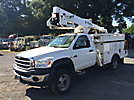 HiRanger TL38-P, Articulating & Telescopic Bucket Truck, mounted behind cab on, 2008 Sterling Bullet Service Truck