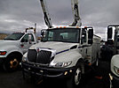 HiRanger TL41-MH, Articulating & Telescopic Material Handling Bucket Truck, mounted behind cab on, 2006 International 4300 Utility Truck
