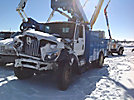 HiRanger TL50M, Articulating & Telescopic Bucket Truck, mounted behind cab on, 2011 International Work Star Utility Truck