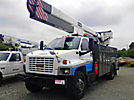 HiRanger/Telelect 5FC-48, Bucket Truck, rear mounted on, 2003 GMC C7500 Utility Truck