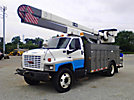 HiRanger/Terex, Bucket Truck, rear mounted on, 2003 GMC C7500 Utility Truck