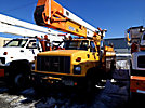 Holan 805-50B, Material Handling Bucket Truck, rear mounted on, 2000 GMC C7500 Utility Truck