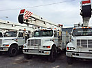 Holan 805-55, Material Handling Bucket Truck, rear mounted on, 2001 International 4700 Utility Truck