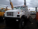 Holan 805B-50, Material Handling Bucket, rear mounted on, 1997 GMC C8500 4x4 Utility Truck