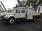 IMT 5200, Hydraulic Knuckle Boom Crane, rear mounted on, 2000 International 4700 Utility Truck
