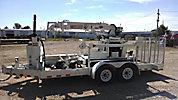 IMT EZH2, Back Yard Digger Derrick, mounted on, 2003 SDP EZ Hauler Carrier