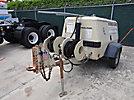 Ingersoll Rand P175WJD Portable Air Compressor, 175-Cfm & trailer mtd