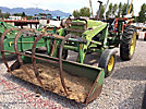John Deere 2840 Rubber Tired Utility Tractor/Loader, s/n unknown, JD diesel, 6 spd, with loader bucket w/grapple, PTO, 3 pt. hitch, counter weight (Reads 1451 Hours)