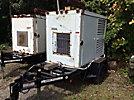 Lamarche A46-10-12V-A1 Portable Generator, s/n 02356-4, trailer mtd