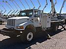 Lift-All LAN-65-2E, Bucket Truck rear mounted on 2000 International 4800 Flatbed/Utility Truck