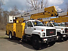 Lift-All LAN42-2E, Bucket Truck, center mounted on, 1995 GMC Topkick Utility Truck