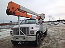 Lift-All LAN51-2E, Bucket Truck, center mounted on, 1991 Chevrolet C7500 Utility Truck