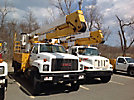 Lift-All LAN51-2E, Bucket Truck, center mounted on, 1994 GMC C7500 Flatbed/Utility Truck