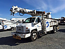 Lift-All LD47RT, Digger Derrick, rear mounted on, 2007 GMC C7500 Flatbed/Utility Truck