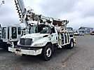 Lift-All LD47RT, Digger Derrick, rear mounted on, 2010 International 4300 Flatbed/Utility Truck