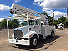 Lift-All LOM10-55-2MS, Material Handling Bucket Truck, rear mounted on, 2007 Peterbilt 335 Utility Truck