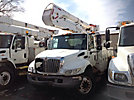 Lift-All LOM42-1S, Material Handling Bucket Truck, rear mounted on, 2002 International 4300 Utility Truck