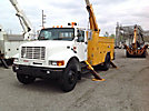 Lift-All LOM50-2MS, Material Handling Bucket Truck, center mounted on, 2001 International 4700 Utility Truck