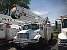 Lift-All LOM55-2MS, Material Handling Bucket Truck, rear mounted on, 2000 International 4900 Utility Truck