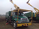 Lift-All LSS-60-1S, Over-Center Bucket Truck mounted behind cab on 2006 Sterling Acterra Chipper Dump Truck