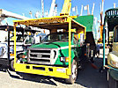 Lift-All LSS-60-1S, Over-Center Bucket Truck mounted behind cab on 2007 Ford F750 Chipper Dump Truck