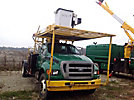 Lift-All LSS55-1S, Over-Center Bucket Truck mounted behind cab on 2006 Ford F750 Cab & Chassis