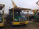 Lift-All LSS55-1S, Over-Center Bucket Truck mounted behind cab on 2009 Freightliner M2 106 Cab & Chassis