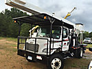 Lift-All LSS60-70, Over-Center Elevator Bucket Truck, rear mounted on, 2007 Freightliner M2-106 Flatbed Truck, 4x4