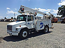 Lift-All LTAF36-1E, Articulating & Telescopic Bucket Truck, mounted behind cab on, 2002 Freightliner FL70 Utility Truck