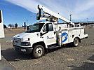 Lift-All LTAF36-1E, Articulating & Telescopic Bucket Truck, mounted behind cab on, 2006 GMC C5500 Service Truck