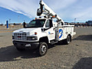 Lift-All LTAF36-1E, Articulating & Telescopic Bucket Truck, mounted behind cab on, 2007 GMC C5500 4x4 Service Truck