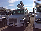 Lift-All LTAF41-1E, Articulating & Telescopic Bucket Truck, mounted behind cab on, 2002 Freightliner FL70 Utility Truck