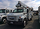 Lift-All LTAF41-1E, Articulating & Telescopic Bucket Truck, mounted behind cab on, 2004 GMC C7500 Utility Truck