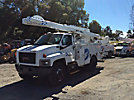 Lift-All LTAF41-1E, Articulating & Telescopic Bucket Truck, mounted behind cab on, 2005 GMC C7500 Utility Truck