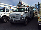 Lift-All LTAF41-1E, Articulating & Telescopic Bucket Truck, mounted behind cab on, 2006 GMC C7500 Utility Truck