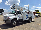 Lift-All LTAF41-1E, Articulating & Telescopic Bucket Truck, mounted behind cab on, 2007 GMC C7500 Utility Truck