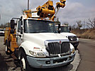 Lift-All LTAFM-41-1S, Articulating & Telescopic Material Handling Bucket Truck, mounted behind cab on, 2003 International 4300 Utility Truck
