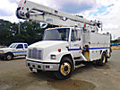 MTI 805B-55-3, Material Handling Bucket, rear mounted on, 2001 Freightliner FL70 Utility Truck