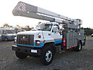 MTI V5A50IP-2TFE2, Bucket Truck, rear mounted on, 2001 Freightliner FL70 Utility Truck