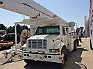 MTI V6-65IP-4TFE2, Bucket Truck, rear mounted on, 2000 International 4700 Flatbed/Utility Truck