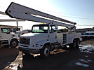 MTI/Teco V775IP-4TFE2, Bucket Truck, rear mounted on, 2000 Freightliner FL112 T/A Utility Truck