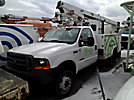 MTI/Telsta A28D, Telescopic Non-Insulated Bucket Truck, mounted behind cab on, 2001 Ford F450 Service Truck
