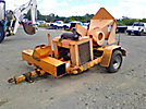 Midsouth 12 Chipper (12 Drum), trailer mtd