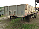 Military Tri-Axle High Flatbed Trailer