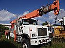 National 1300, Hydraulic Crane rear mounted on 2002 International 5600i 6x6 Flatbed Truck