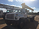 National 455, Hydraulic Crane mounted behind cab on 1992 GMC Topkick Flatbed Truck