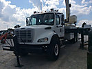 National 800B, Hydraulic Crane mounted behind cab on 2005 Freightliner M2 Flatbed Truck