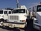 National N80A, Knuckleboom Crane, mounted behind cab on 2000 Freightliner FL70 URD/Flatbed Truck,