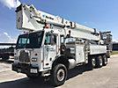 Norstar AE115, Articulating & Telescopic Material Handling Platform Truck rear mounted on 2002 Peterbilt 320 6x6 Flatbed/Utility Truck