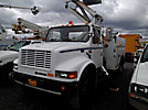 Pico PCDT-40IE, Telescopic Elevator Bucket Truck, mounted behind cab on, 2000 International 4700 Utility Truck